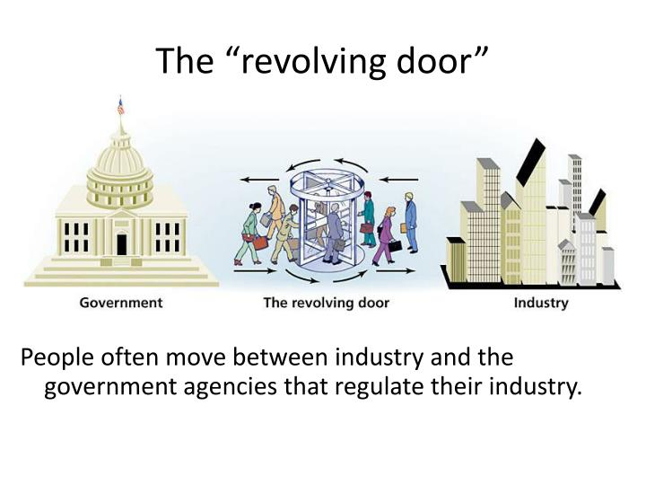"The ""revolving door"""