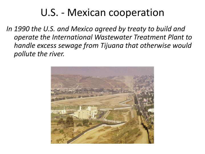 U.S. - Mexican cooperation
