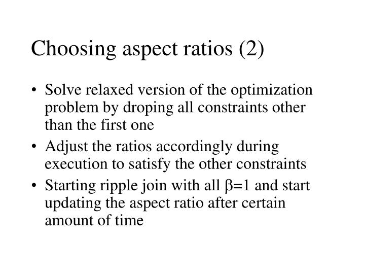 Choosing aspect ratios (2)