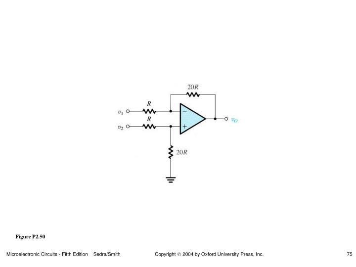 Figure P2.50