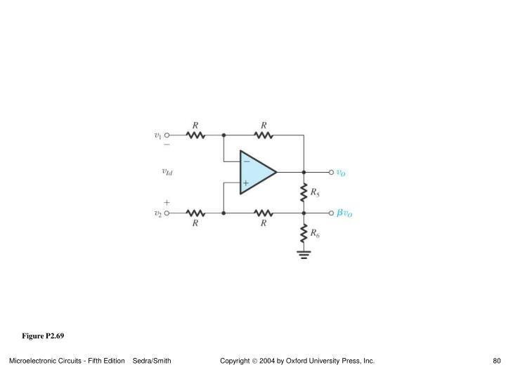Figure P2.69