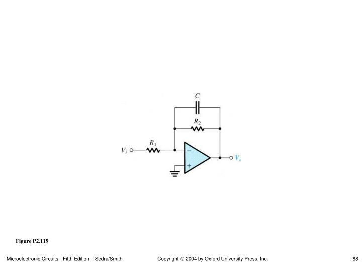 Figure P2.119