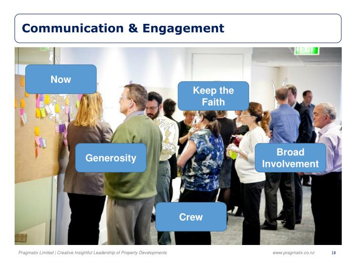 Communication & Engagement
