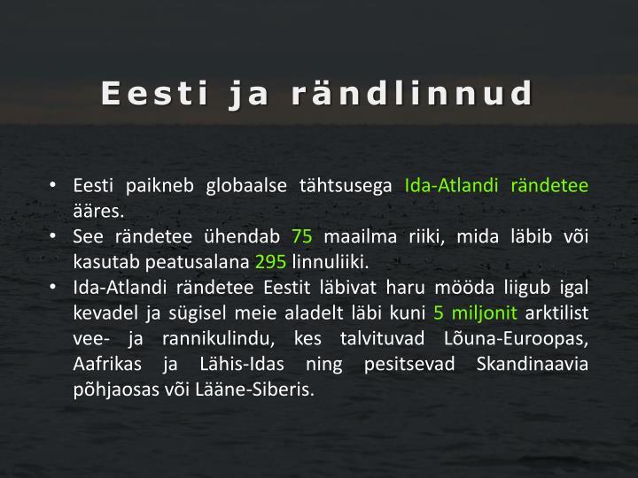 Eesti ja rändlinnud