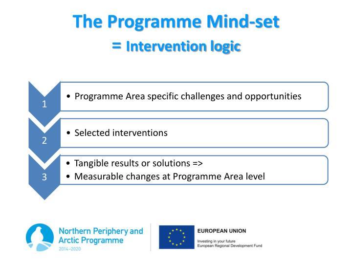 The Programme Mind-set