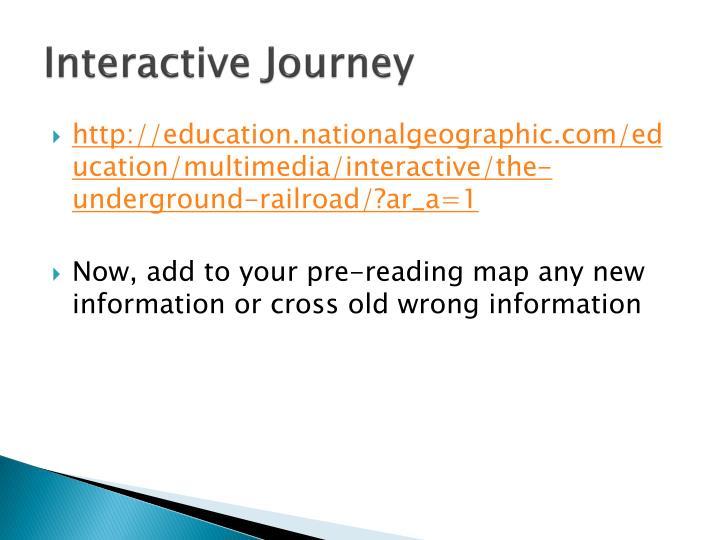 Interactive Journey