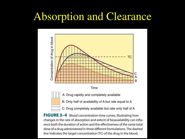 Absorption and Clearance