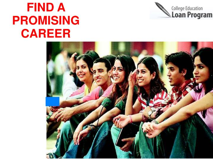 FIND A PROMISING CAREER