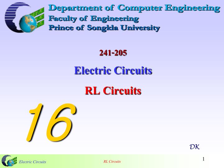 241 205 electric circuits rl circuits