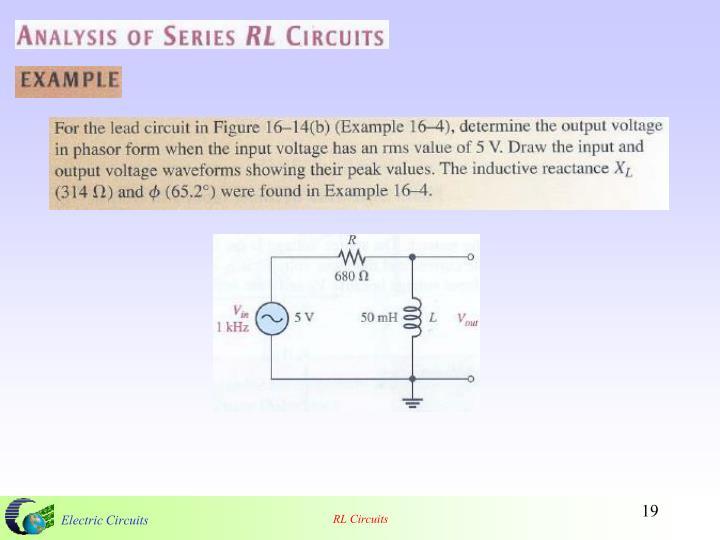 RL Circuits