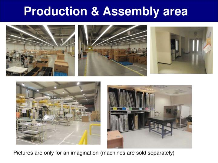 Production & Assembly area