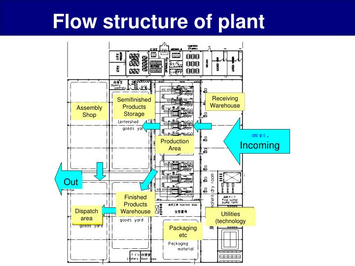 Flow structure of plant