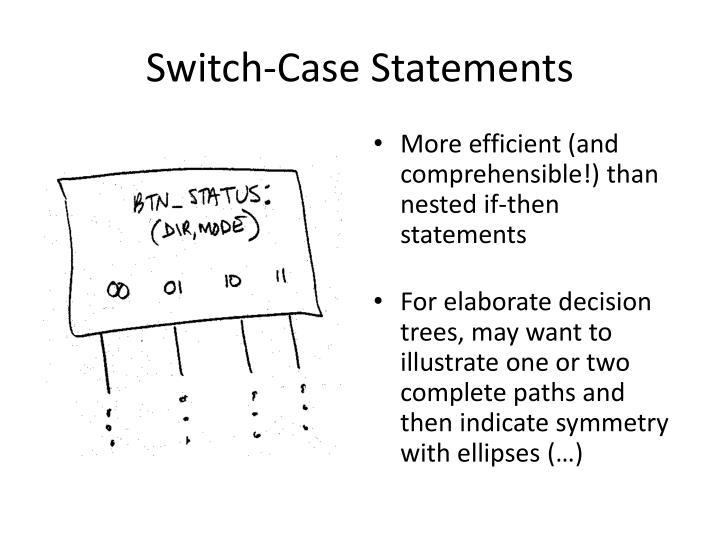 Switch-Case Statements
