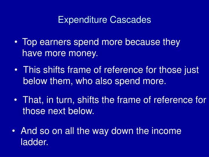 Expenditure Cascades