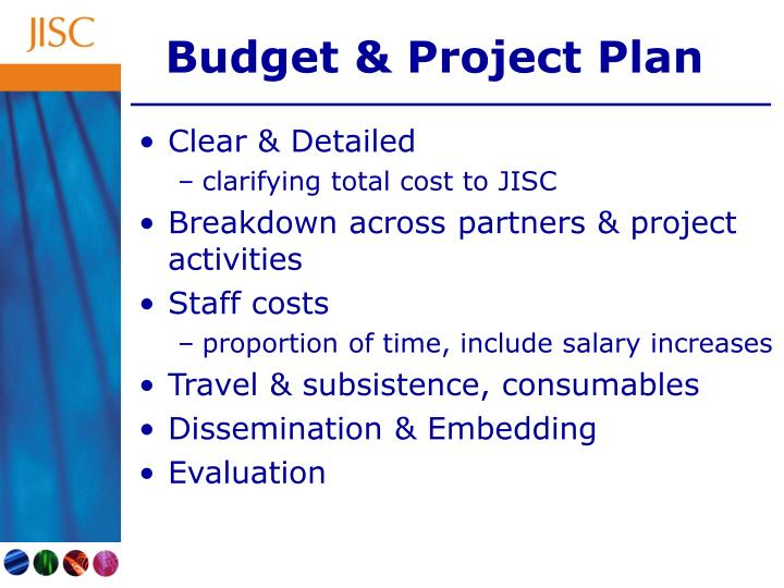 Budget & Project Plan