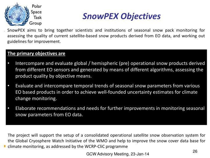 SnowPEX