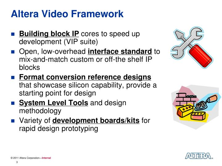 PPT - Implementing Video Systems Using the Altera Video ...