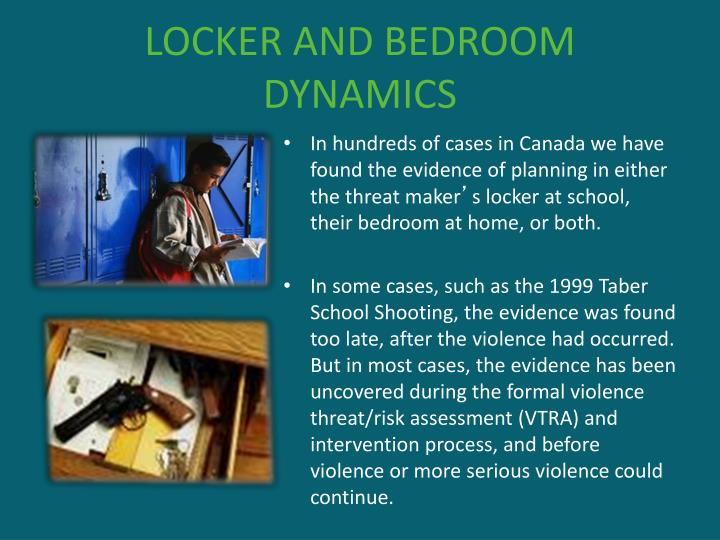 LOCKER AND BEDROOM DYNAMICS