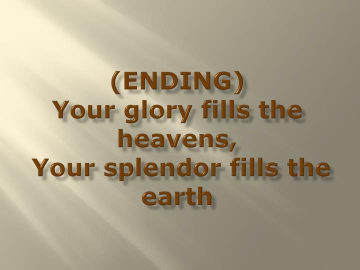 (ENDING)