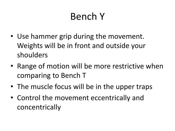 Bench Y