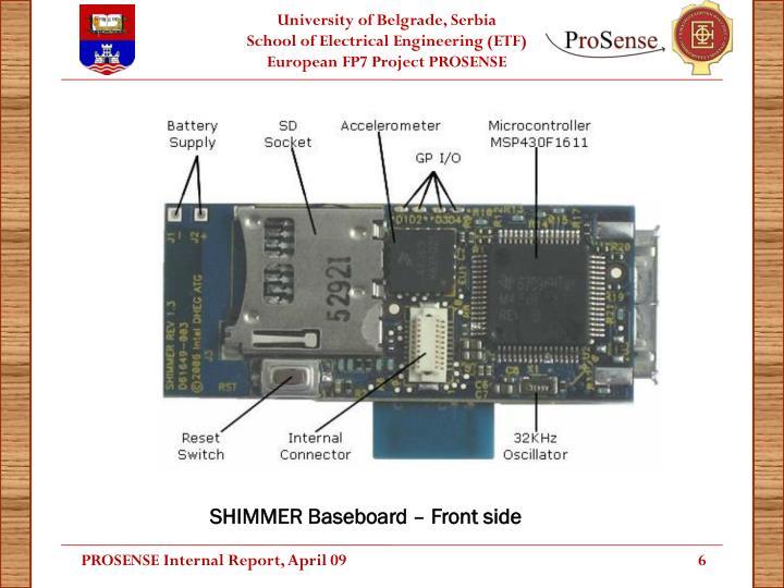 SHIMMER Baseboard – Front side