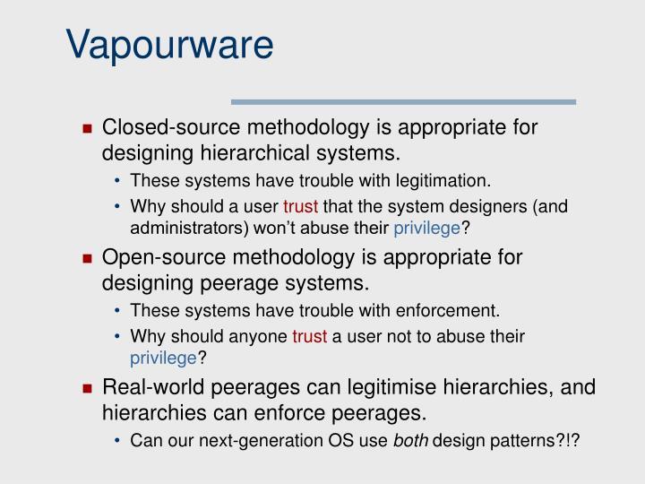 Vapourware