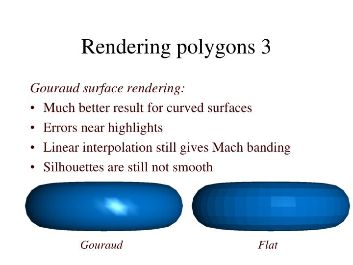 Rendering polygons 3