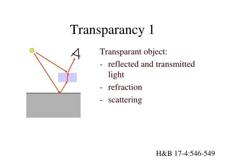 Transparancy 1