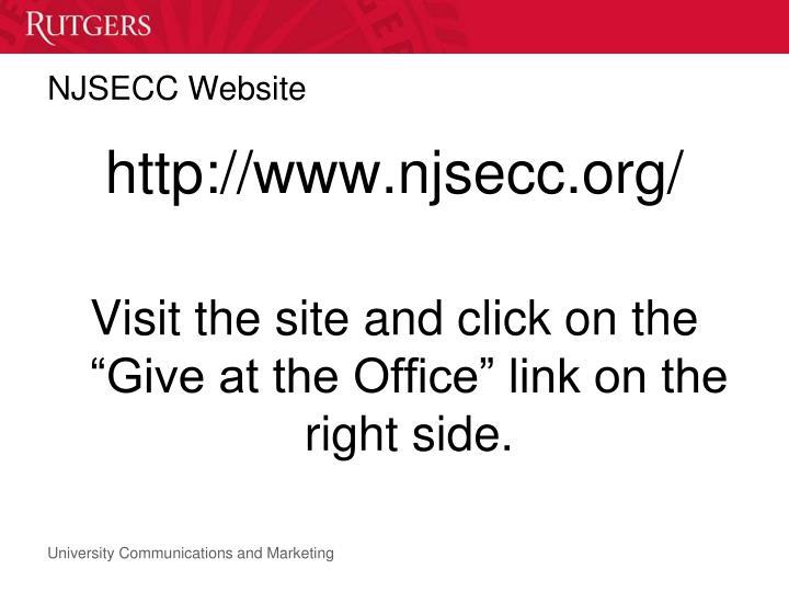 NJSECC Website