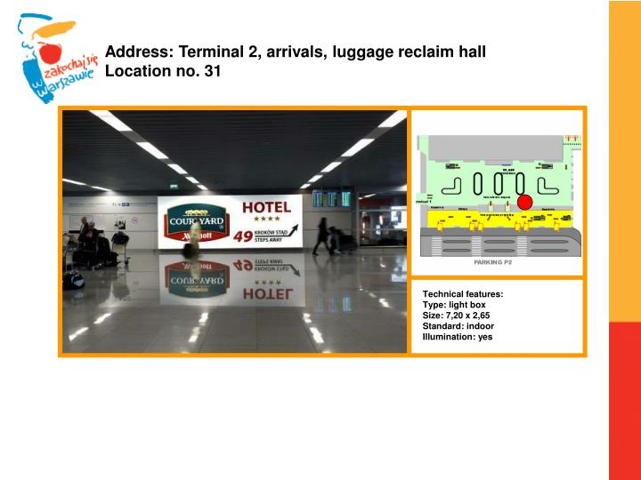 Address: Terminal 2,