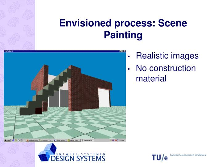 Envisioned process: Scene Painting