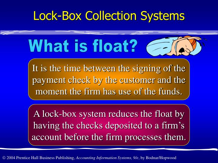 Lock-Box Collection Systems