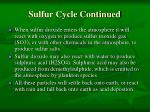 sulfur cycle continued1