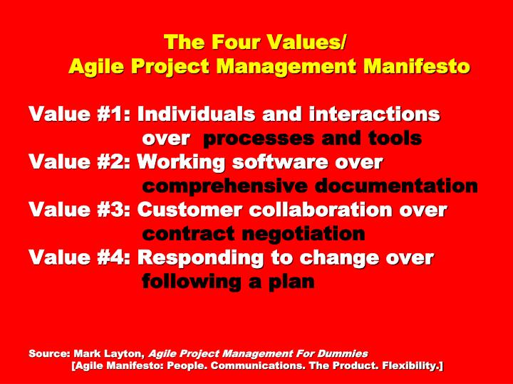 The Four Values/