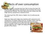 effects of over consumption1
