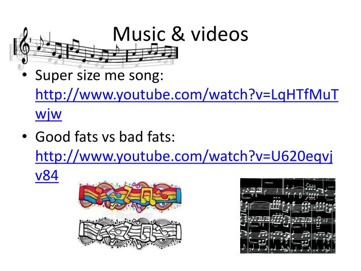 Music & videos