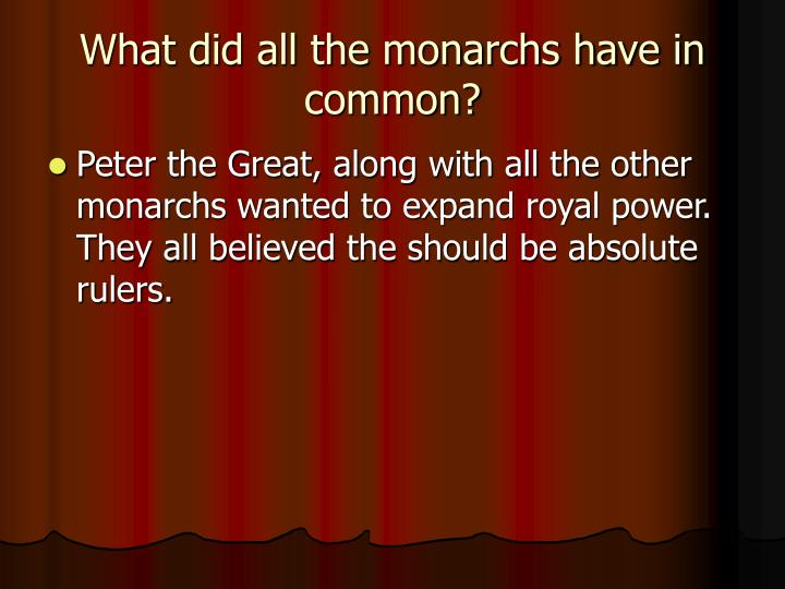 Ppt Europe S Next Top Monarch Powerpoint Presentation