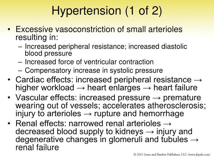 Hypertension (1 of 2)