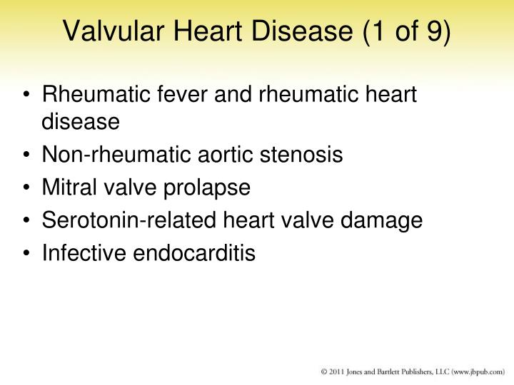 Valvular Heart Disease (1 of 9)