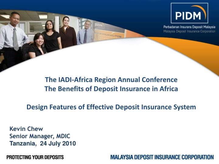 The IADI-Africa Region Annual Conference