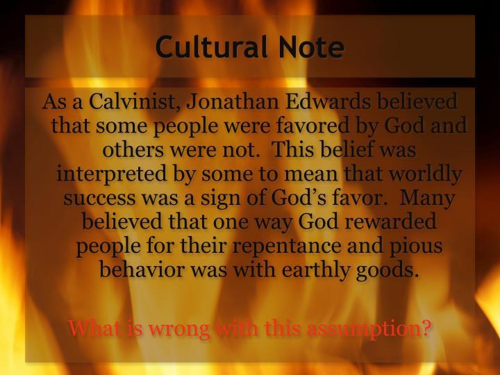 Cultural Note