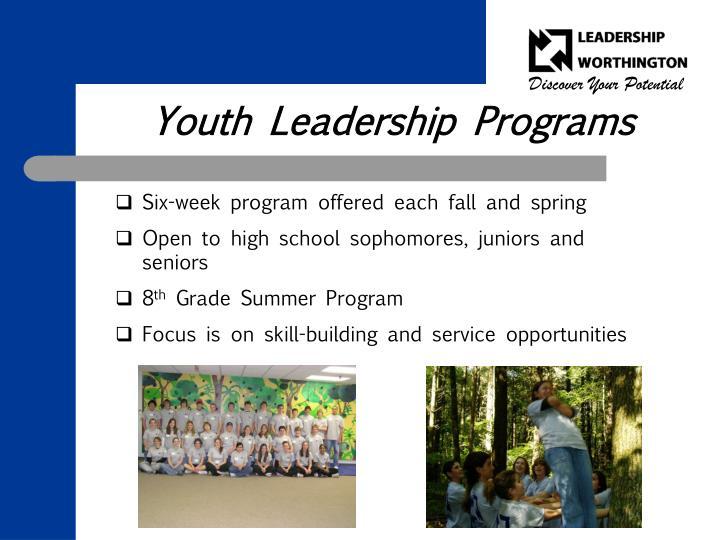Youth Leadership Programs