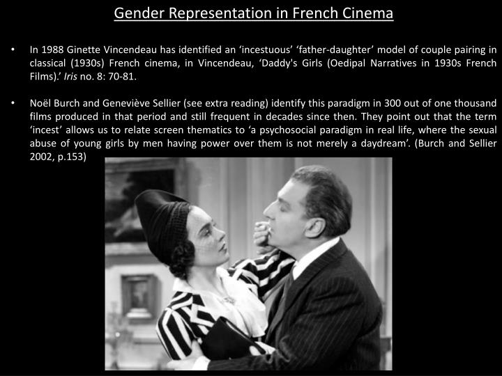 Gender Representation in French Cinema