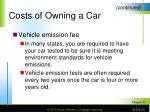 costs of owning a car3