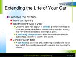 extending the life of your car1