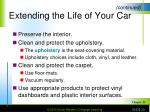 extending the life of your car2