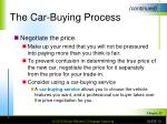 the car buying process10