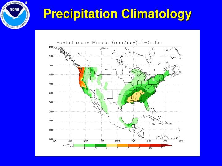 Precipitation Climatology