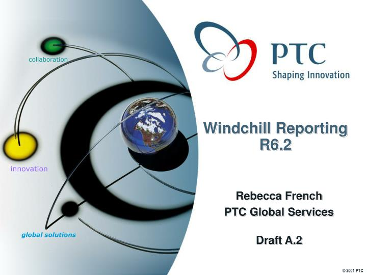Windchill reporting r6 2