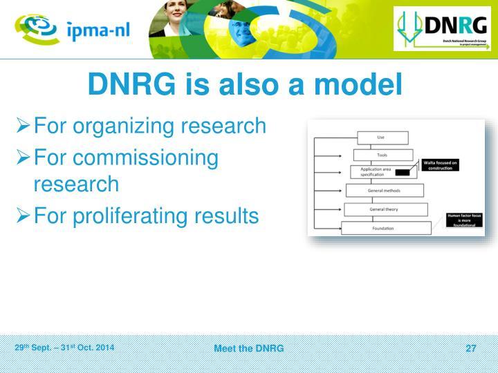 DNRG is